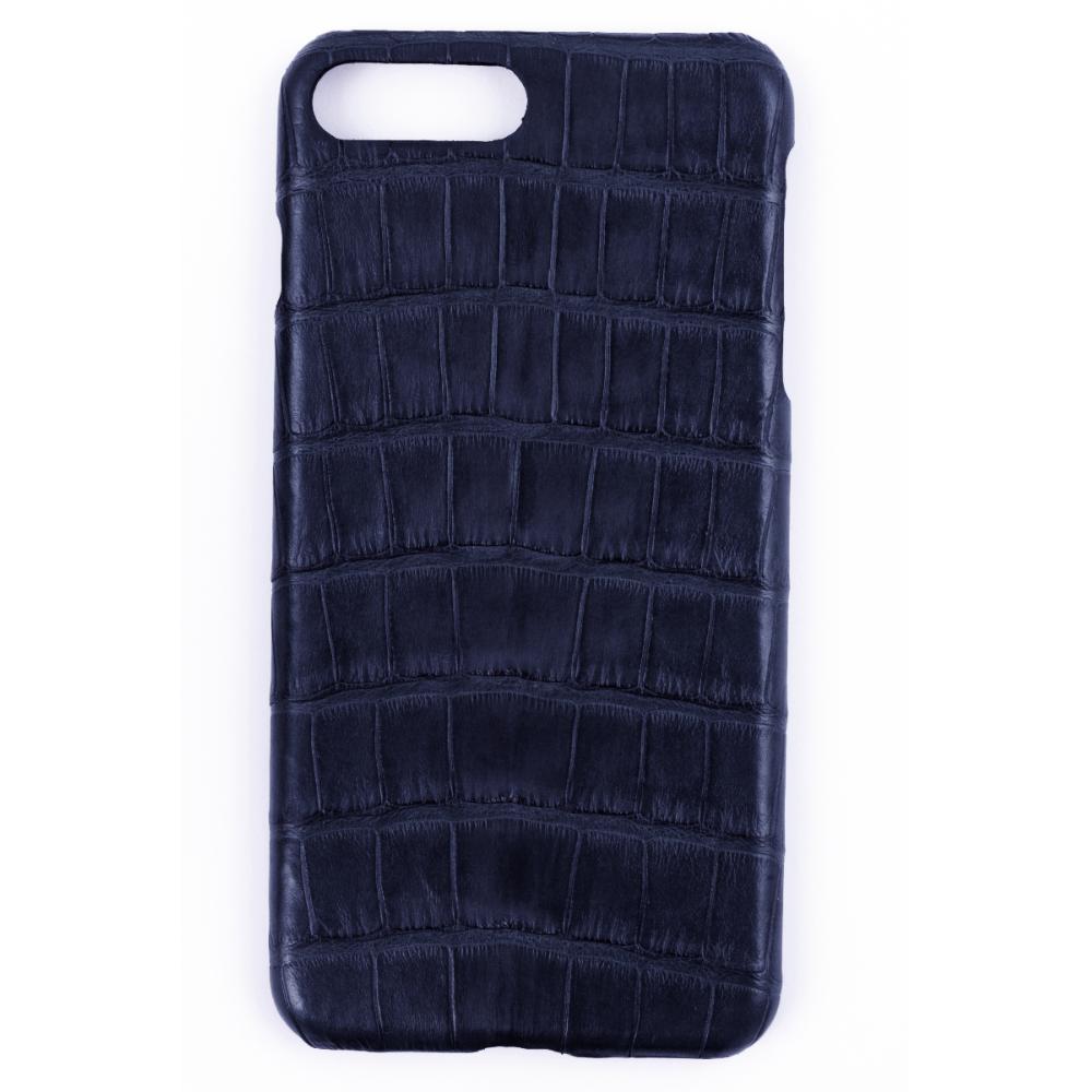 Handgefertigte IPhone7+ Hülle aus Alligatorleder-0