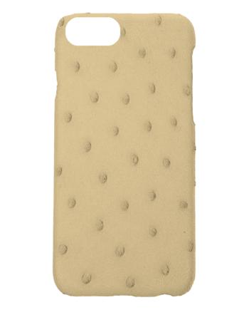 Handgefertigte IPhone7 Hülle aus Straussenleder-0