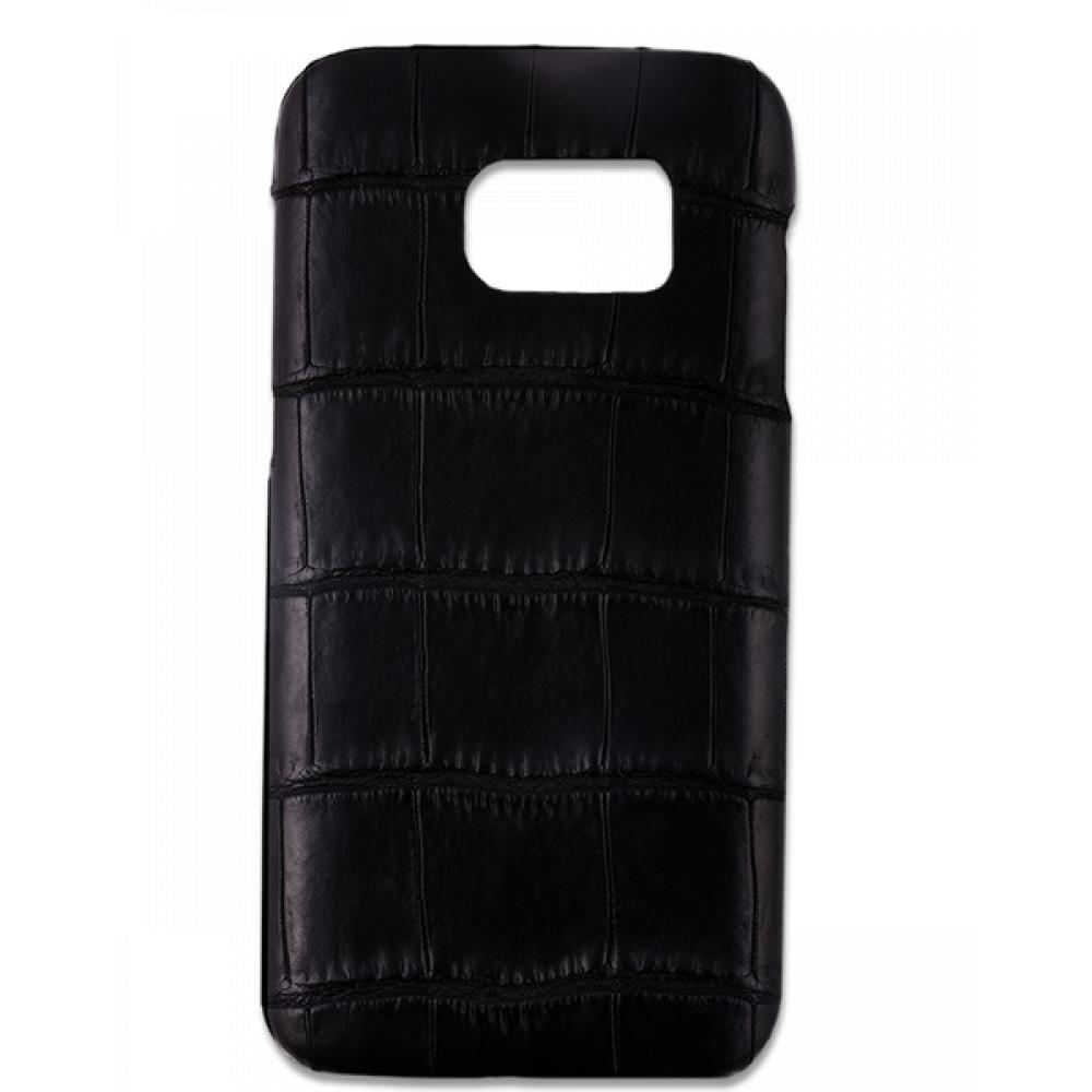 Handgefertigte Samsung Galaxy S7 Edge Hülle aus Alligatorleder-39850