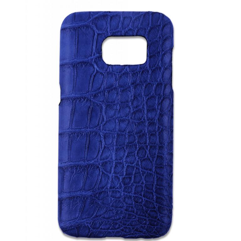 Handgefertigte Samsung Galaxy S7 Edge Hülle aus Alligatorleder-0