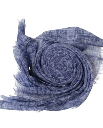 Tuch im Kaschmir-Seidenmix mit ausgefransten Kanten-0