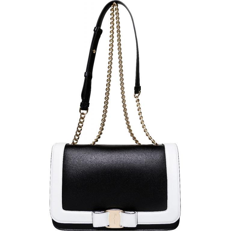 Kettenhenkel-Bag mit Schleifen-Schließe-0