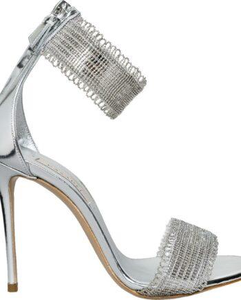 Sandaletten mit Fesselriemchen und High-Heel-Absatz-0