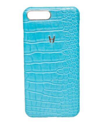 iPhone-Case aus Alligatorleder für iPhone 8 Plus-0