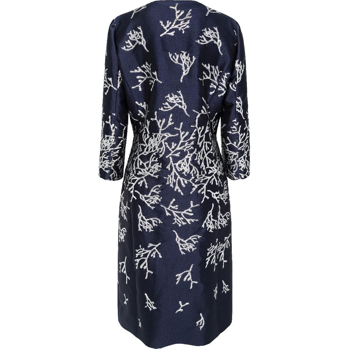 Mantel etuikleid mit elegantes Kleid