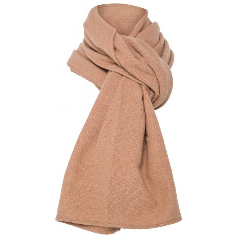 Langer Schal im Grobstrick aus Kaschmir-0