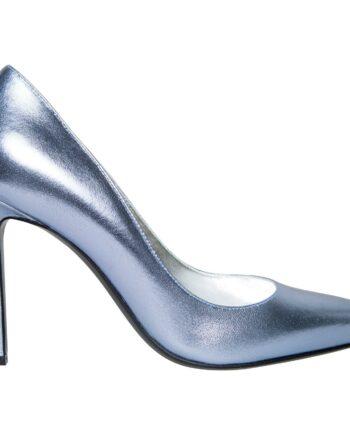 Pumps in Metallicleder mit High-Heel-Absatz-0
