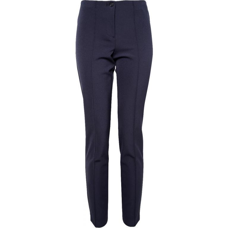 Slim-Cut-Pants mit hohem Bündchen-0