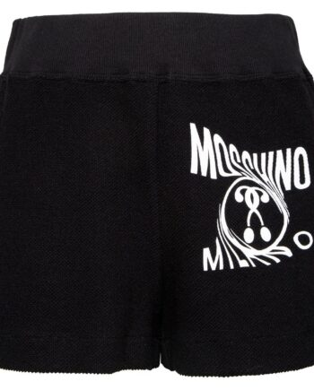 Shorts mit Logo-Motivprint-0