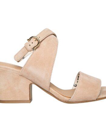 Sandaletten mit Crop-Keilabsatz und Fesselriemchen-0