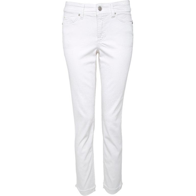 Slim-Pants in gecroppter Länge-0