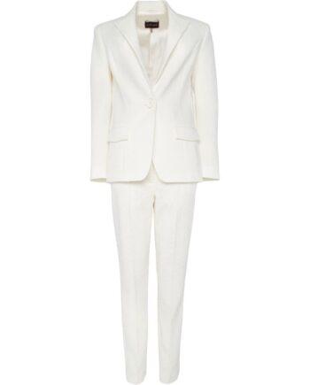 Anzug aus Slim-Pants und Blazer-0