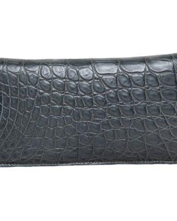 Langes Portmonnaie aus Krokodilleder-0