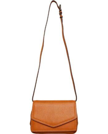 Klassische Tasche mit integriertem Schultergurt und applizierter Tasche an der Front-0