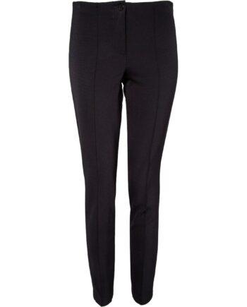 High-Waist-Pants mit Biesen und seitlichem Zierstreifen-0