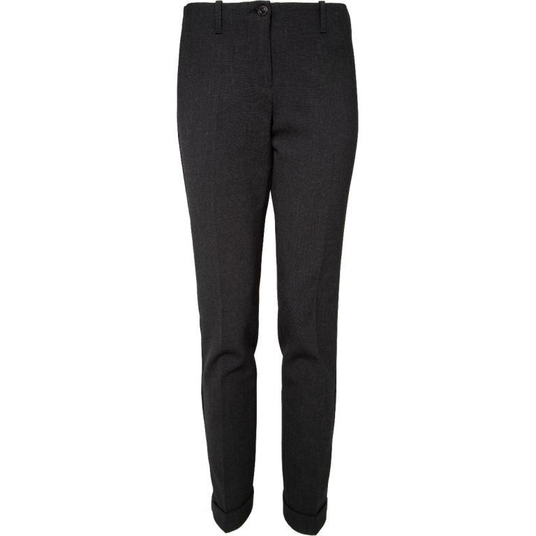 Slim-Cut-Pants mit Bügelfalten-0