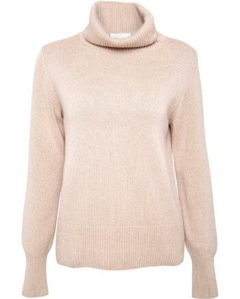 Rollkragen-Pullover im Wide-Cut aus Kaschmir-0