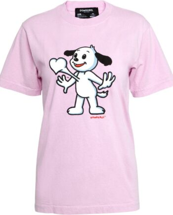 Slim Cut T-Shirt in Baumwolle mit Tierprintmotiv-0