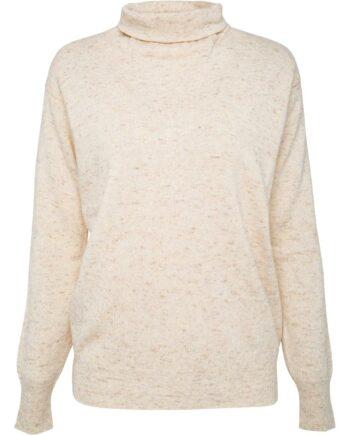 Rollkragen-Pullover im elastischen Kaschmir-0