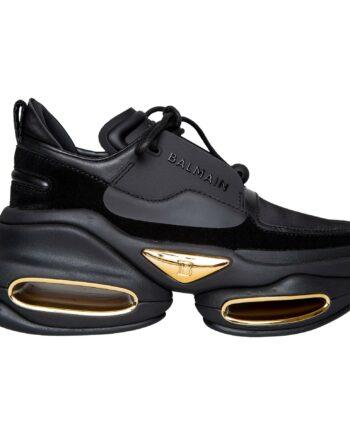 Sneakers mit strukturierter Plateausohle-0