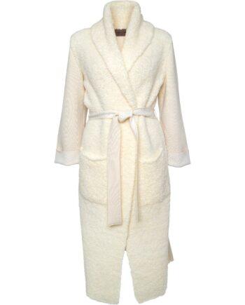 Mantel im Teddybear-Look mit aufgesetzten Taschen-0